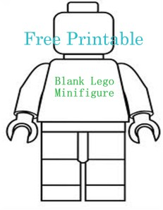 Have You Seen That Blank Lego Minifigure Going Around Pinterest I Loved It And Knew My Boys Would A Blast Using Their Imagination To Create Things