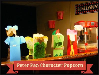 Peter Pan Character Popcorns1