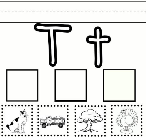 T Printable Worksheets – Work Calendar